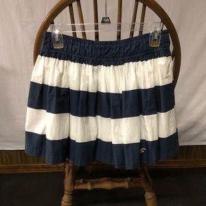 Stripped hollister skirt
